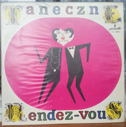 LP Various Artists -- Taneczne Rendez-Vous (1971) MONO Insrumental