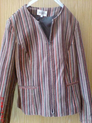 Пиджак женский стильный  на молнии  46-48 р Распродажа!