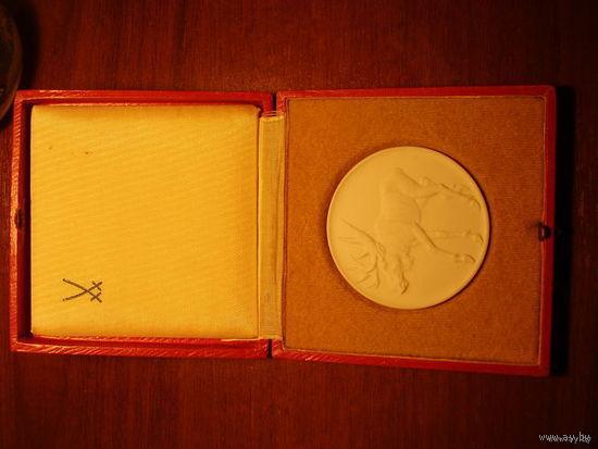 Настольная медаль Охота
