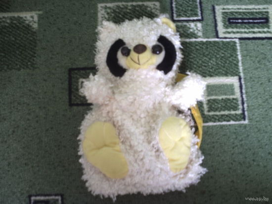 Сумка-игрушка на бретельках медвеженок