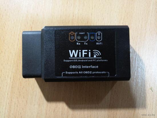 Автомобильный диагностический сканер ELM 327 WIFI  OBD2