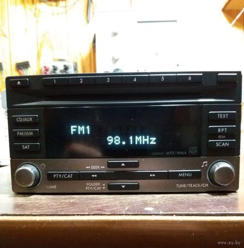 2008-11 Subaru Impreza Radio 6CD Чейнджер Mp3 Магнитола 86201FG601 Радиоприемник USA БЕСПЛАТНАЯ ДОСТАВКА