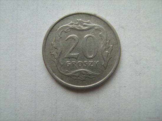 Польша20грош1992г.