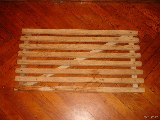 Решетка напольная деревянная для ванной, бани