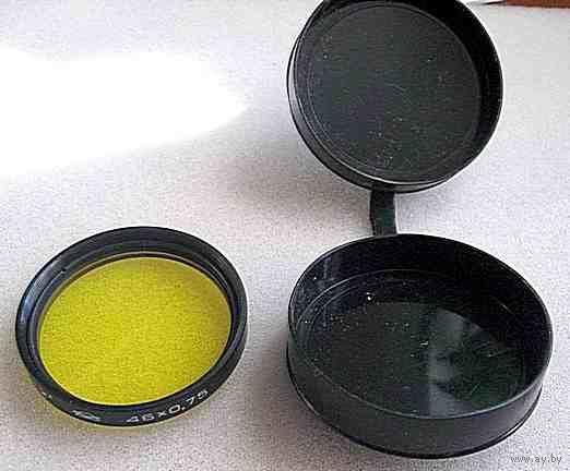 Светофильтр Ж-2* М.46х0,75