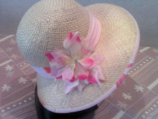 НОВАЯ женская летняя шляпка 55 размер
