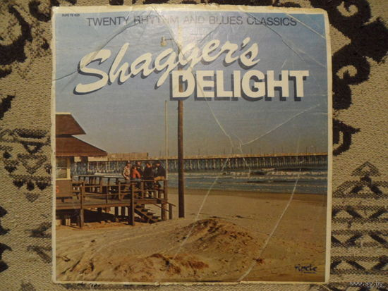 Конверт пластинки Shagger's Delight. Twenty Rhythm and Blues Classics