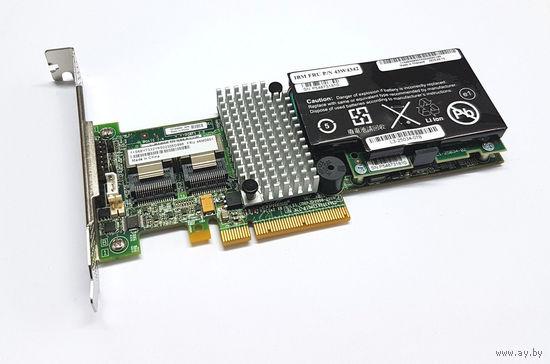 PCI-E 8-port SAS/SATA 6 Gb/s RAID 50/60 controller LSI 9260-8i
