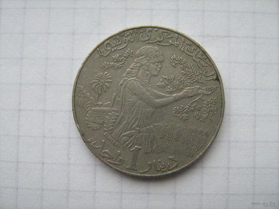 Тунис 1 динар 1997г.
