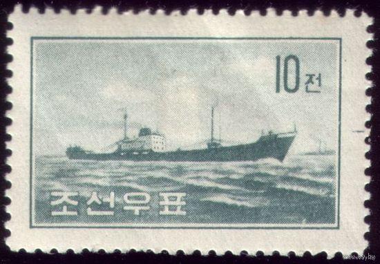 1 марка 1959 год КНДР Корабль