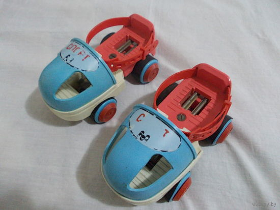 Роликовые коньки, раздвижные на парных колесах спорт СССР детские