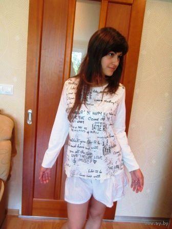 Яркая, не повторимая блуза известной фирмы р.48-50