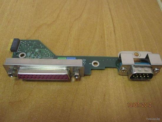 Плата портов RS-232 и LPT