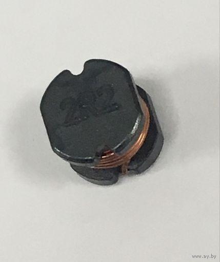 Индуктивности/Дроссели Дроссели  2.2 мкГн . ESR06042R2MLB SMD Катушки индуктивности (Индуктор, индуктивность, дроссель)