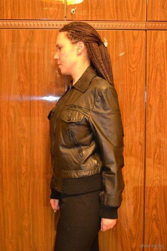 Куртка из натуральной кожи р-р 46-48