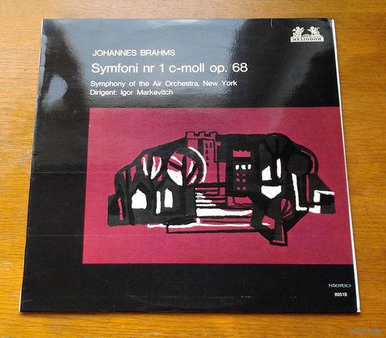 Brahms. Symfoni nr 1 c-moll op. 68 - Igor Markevitch, LP 1965
