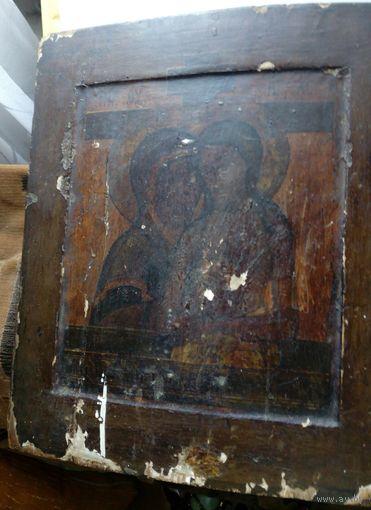 """Старинная икона """"Не рыдай Мене, Мати"""". 19 век. Без МПЦ!"""