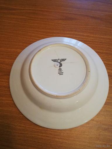 Суповая тарелка. Вермахт 1942 г.