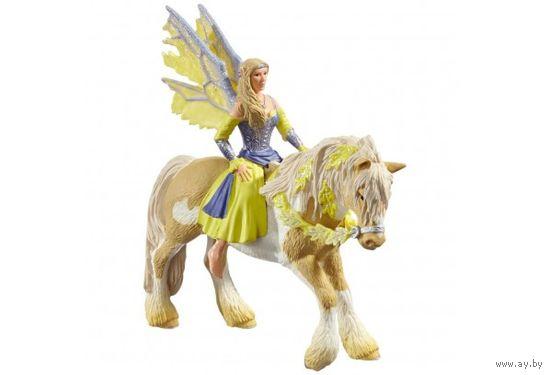 Schleich Эльфийка Сера на лошади