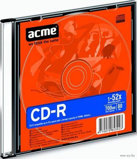 Acme CD-R 700MB 52x Slim Case 1шт