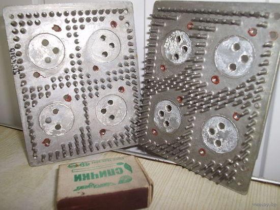 13 Пара радиаторов под 4 транзистора из БП