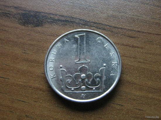 Чехия 1 крона 2001
