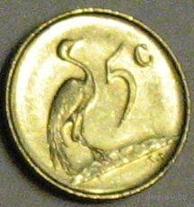 ЮАР, 5 центов, 1974