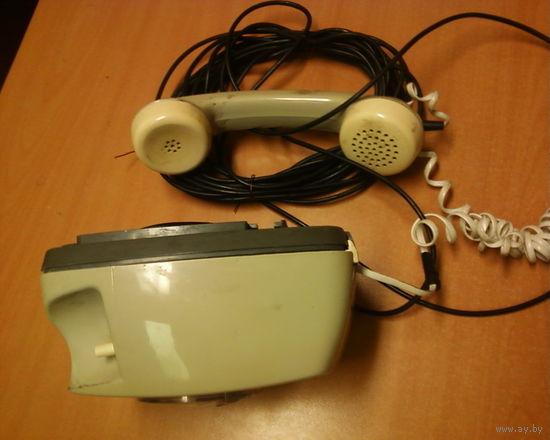 Телефон ГДР-вешается на стену-толстый-рабочий