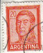 Аргентина. Хосе де Сан Мартин.
