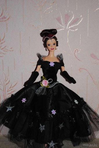 """Продам новое ПЛАТЬЕ с перчатками для куклы Барби: """"Дама ПИК"""" - машинный самошив, сидит весьма аккуратно. Сама кукла, как и её головной убор в стоимость не входят. Пересыл по почте платный!"""