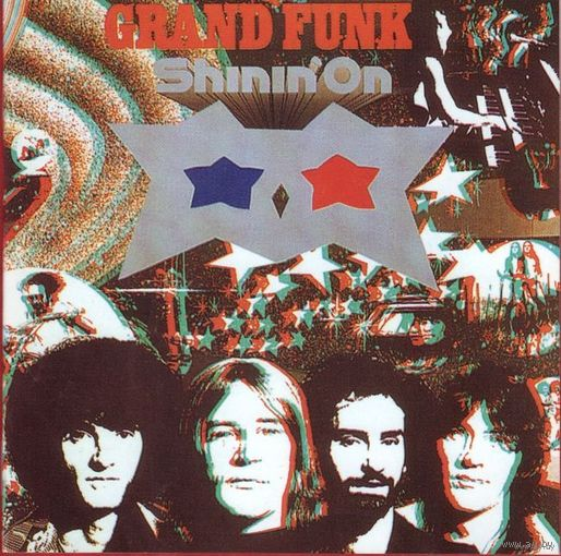 "Grand Funk railroad ""Shinin,on"" 1974 г."