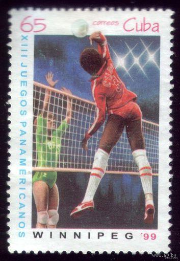 1 марка 1999 год Куба Панамериканские игры