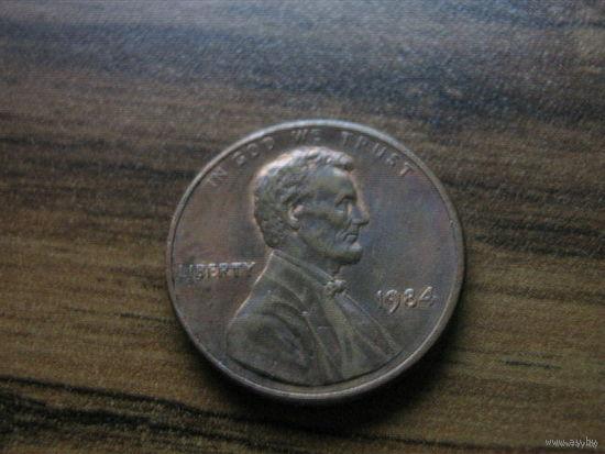 США 1 cent 1984