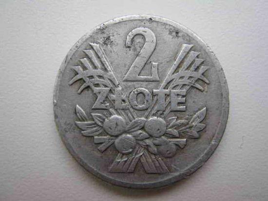 2 злотых 1958 (Польша)