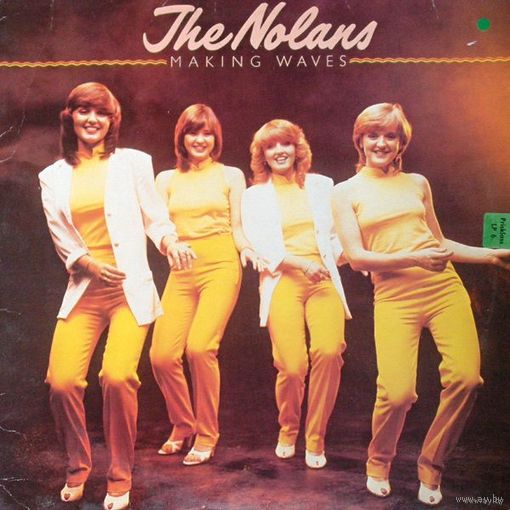 LP The Nolans - Making Waves (1980) Disco