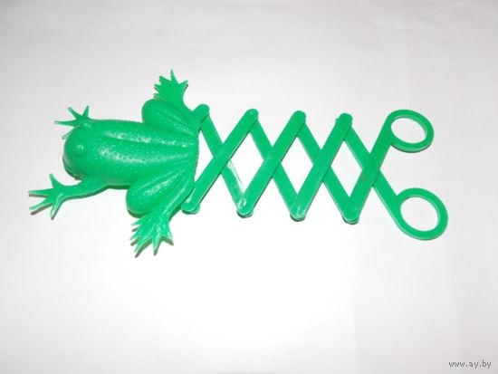Лягушка- попрыгушка, игрушка СССР