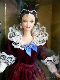 Кукла Барби/Barbie Sentimental Valentine фирмы Mattel, 1997 г, специальное издание Hallmark.
