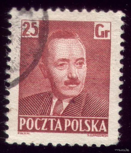 1 марка 1950 год Польша Берут
