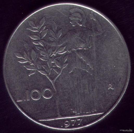 100 Лир 1977 год Италия