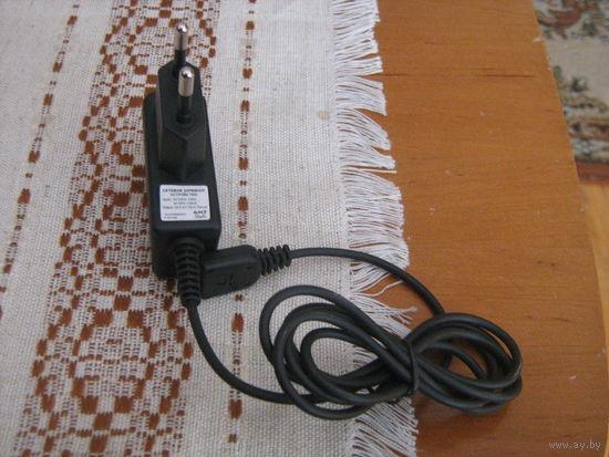 Сетевое зарядное устройство с широким штекером-11 мм