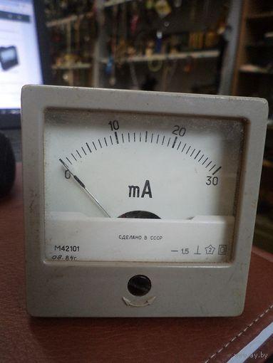 Прибор щитовой М42101