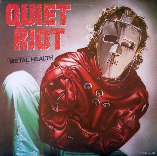 Quiet Riot - Metal Health - LP - 1983