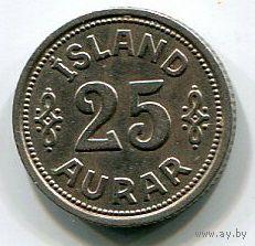 ИСЛАНДИЯ - 25 ЭРЕ 1940