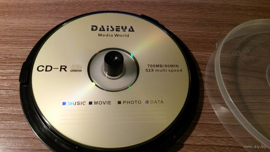 Диск CD-R (производства Daiseya)