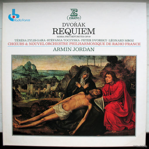 Dvorak. Requiem - Jordan. 2LP Box Set, 1981