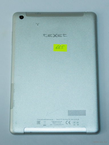 665 Texet NaviPad (TM-7855). По запчастям, разборка