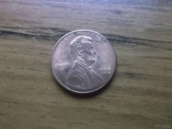 США 1 cent 1995