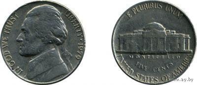 США 5 центов 1979 г.   распродажа