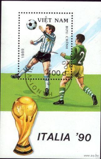 Вьетнам. Блок 1989 год Футбол