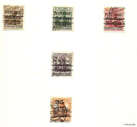5 марок 1918.